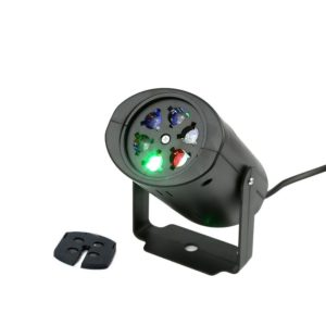 rotating rgb led light projector