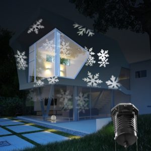 snowflake laser light